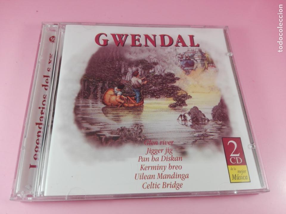 CD(DOBLE)-GWENDAL-26 TEMAS-DISQUERÍA-1995-VER FOTOS (Música - CD's Country y Folk)