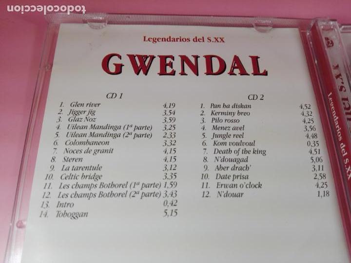 CDs de Música: cd(doble)-gwendal-26 temas-disquería-1995-ver fotos - Foto 4 - 148610414