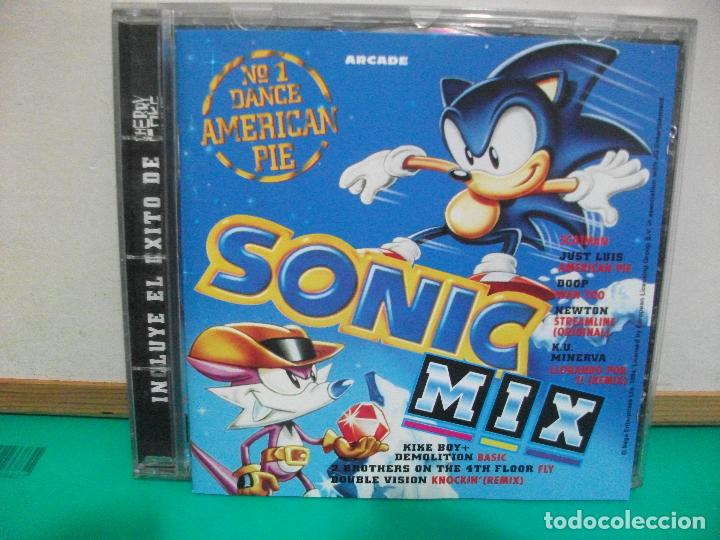 Cd album - sonic mix - arcade - 1995 - Sold through Direct Sale
