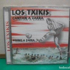 CDs de Musique: LOS TXIKIS-CANTAN A ZARRA CD ALBUM 1999 SPAIN NUEVO¡¡ PEPETO. Lote 148624442
