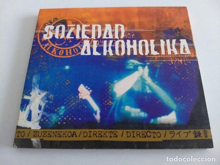 SOZIEDAD ALKOHOLIKA. DIRECTO (Música - CD's Rock)