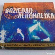 CDs de Música: SOZIEDAD ALKOHOLIKA. DIRECTO. Lote 148644294