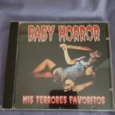 CDs de Música: CD BABY HORROR. MIS TERRORES FAVORITOS. MISFITS, THE CRAMPS, BUZZCOCKS, THE SONICS. Lote 148649454