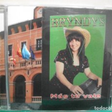 CDs de Música: BRYNDYS MAS TE VALE CD ALBUM ASTURIAS NUEVO¡¡. Lote 148653570