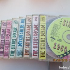 CDs de Música: THE SIXTIES DECADE/10PICTURE DISC/10CDS CON LA MEJOR MUSICA DE LA DECADA 1960 -1969 VERSIONES ORIGIN. Lote 148659730