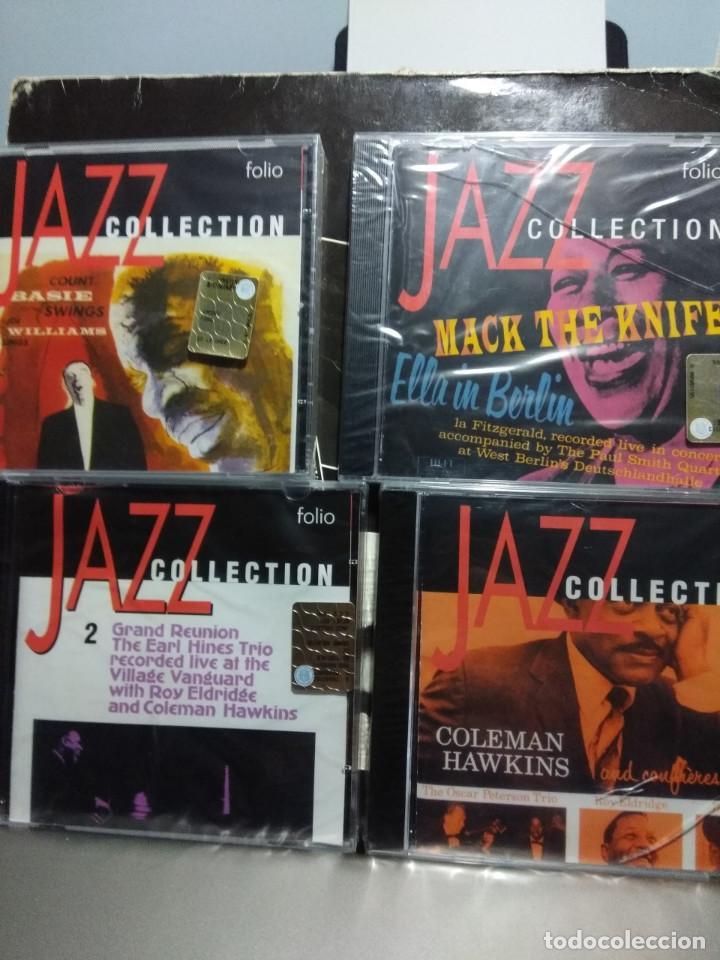 LOTE 4 CD'S JAZZ COLLECTION : COLEMAN HAWKINS + ELLA FITZGERALD + COUNT BASIE + EARL HINES TRIO (Música - CD's Jazz, Blues, Soul y Gospel)