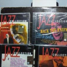 CDs de Música: LOTE 4 CD'S JAZZ COLLECTION : COLEMAN HAWKINS + ELLA FITZGERALD + COUNT BASIE + EARL HINES TRIO. Lote 148671506