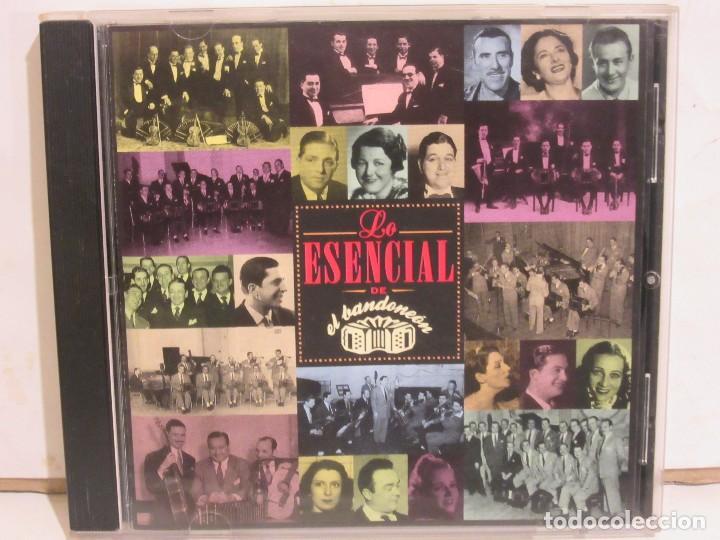 LO ESENCIAL DE EL BANDONEON - TANGOS - GARDEL, MAGALDI..... - CD - 1998 - NM+/EX+ (Música - CD's Otros Estilos)