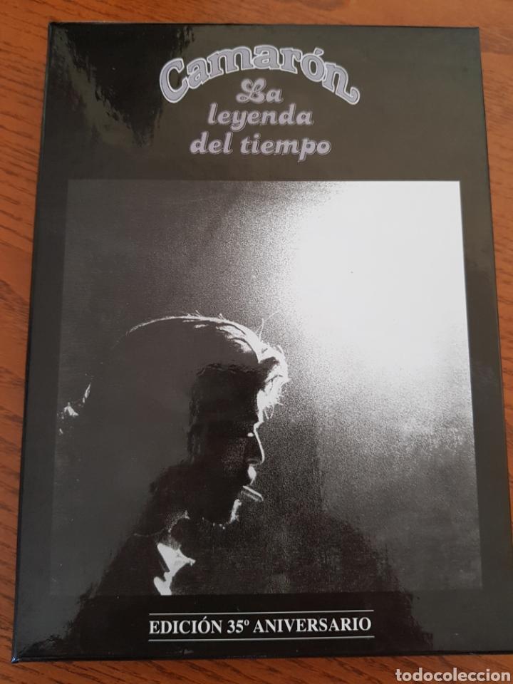 CAMARÓN. LA LEYENDA DEL TIEMPO. EDICIÓN ESPECIAL 35 ANIVERSARIO. CD+DVD+LIBRO (Música - CD's Flamenco, Canción española y Cuplé)