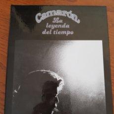 CDs de Música: CAMARÓN. LA LEYENDA DEL TIEMPO. EDICIÓN ESPECIAL 35 ANIVERSARIO. CD+DVD+LIBRO. Lote 148730634
