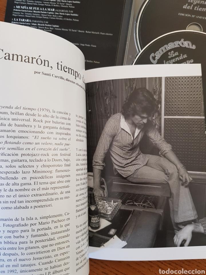 CDs de Música: Camarón. La Leyenda del Tiempo. Edición especial 35 aniversario. Cd+Dvd+Libro - Foto 4 - 148730634