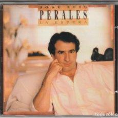 CDs de Música: JOSE LUIS PERALES - LA ESPERA (CD CBS/SONY 1989). Lote 148799826