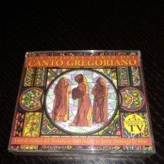 CDs de Música: LAS MEJORES OBRAS DEL CANTO GREGORIANO. Lote 148817638