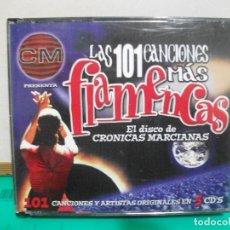 CDs de Música: LAS 101 CANCIONES MÁS FLAMENCAS - CRÓNICAS MARCIANAS. 5 CDS NUEVO¡¡. Lote 148821230