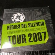 CDs de Música: HÉROES DEL SILENCIO. TOUR 2007. Lote 148821494