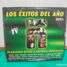 CDs de Música: LOS EXITOS DEL AÑO 2001 TRIPLE CD ALBUM NUEVO¡¡. Lote 148826306