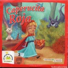 CDs de Música: VESIV CD BIBLIOTECA INFANTIL EL MUNDO Nº 3 CAPERUCITA ROJA. Lote 148881534