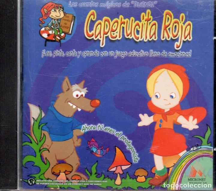 VESIV CD LOS CUENTOS MAGICOS DE DUENDI CAPERUCITA ROJA (Música - CD's Otros Estilos)