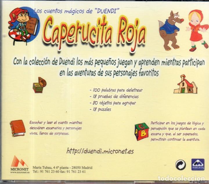 CDs de Música: VESIV CD LOS CUENTOS MAGICOS DE DUENDI CAPERUCITA ROJA - Foto 2 - 148881930