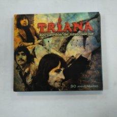 CDs de Música: TRIANA. RECUERDOS DE UNA NOCHE. DOBLE CD + LIBRETO. TDKV25. Lote 148888662