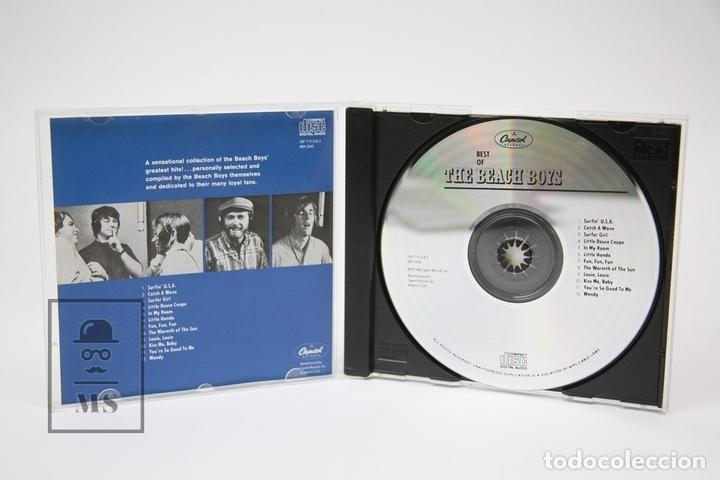CDs de Música: CD de Música - Best Of The Beach Boys / Surfer Girl, Little Honda - Capitol - Año 1988 - Foto 2 - 148889256