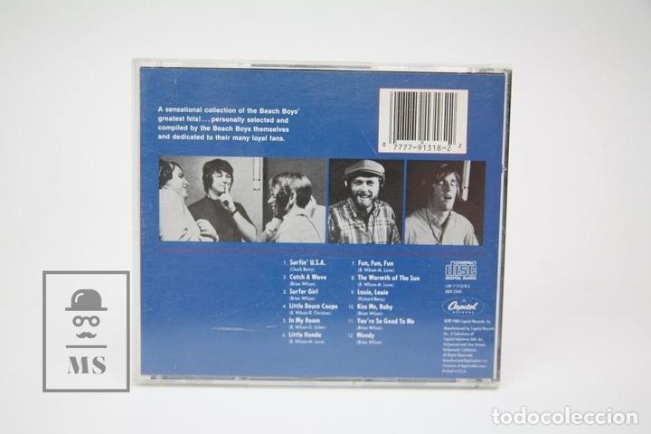 CDs de Música: CD de Música - Best Of The Beach Boys / Surfer Girl, Little Honda - Capitol - Año 1988 - Foto 3 - 148889256