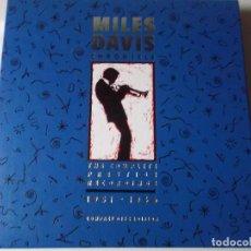 CDs de Música: MILES DAVIS – CHRONICLE: THE COMPLETE PRESTIGE RECORDINGS 1951–1956 SELLO: PRESTIGE – 8PCD-012-2. Lote 148898838