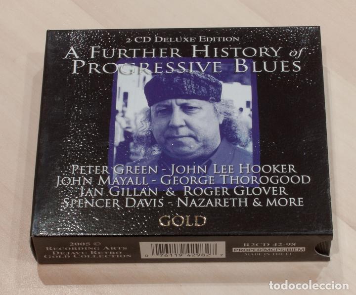 A FURTHER HISTORY OF PROGRESSIVE BLUES. 2 CD DELUXE EDITION. DEJAVU RETRO GOLD COLLECTION. (Música - CD's Jazz, Blues, Soul y Gospel)
