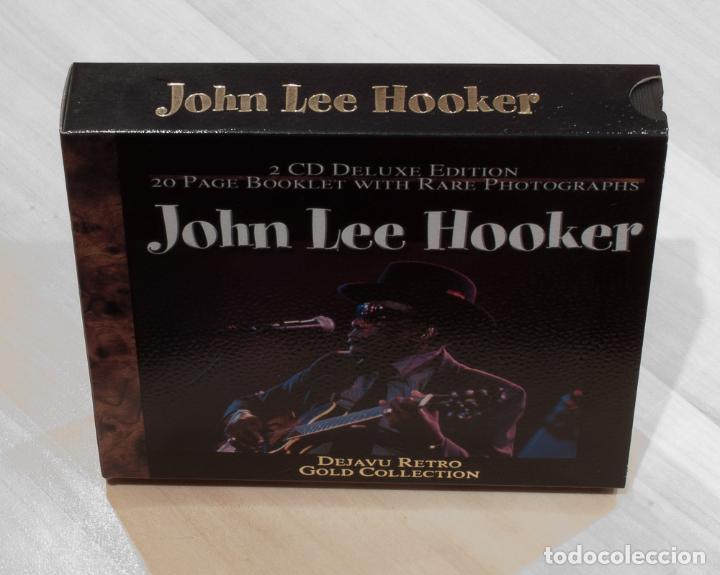 JOHN LEE HOOKER. 2 CD DELUXE EDITION. DEJAVU RETRO GOLD COLLECTION. (Música - CD's Jazz, Blues, Soul y Gospel)
