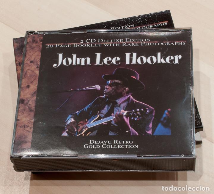 CDs de Música: JOHN LEE HOOKER. 2 CD DELUXE EDITION. DEJAVU RETRO GOLD COLLECTION. - Foto 3 - 148903030
