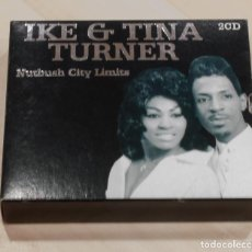 CDs de Música: IKE & TINA TURNER. NUTBUSH CITY LIMITS. 2 CD. BLACK BOX.. Lote 148904142