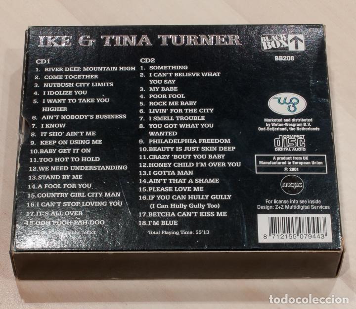 CDs de Música: IKE & TINA TURNER. NUTBUSH CITY LIMITS. 2 CD. BLACK BOX. - Foto 2 - 148904142