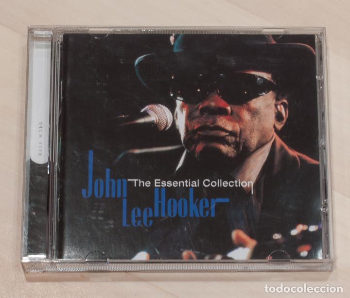 JOHN LEE HOOKER. THE ESSENTIAL COLLECTION. (Música - CD's Jazz, Blues, Soul y Gospel)