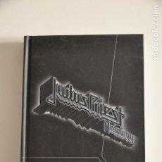 CDs de Música: JUDAS PRIEST METALOGY 4XCD BOX +BOOK. Lote 148914898