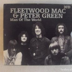 CDs de Musique: FLEETWOOD MAC & PETER GREEN, MAN OF THE WORLD. DOBLE CD BLACK BOX 2001.. Lote 148944870