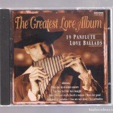 CDs de Música: VARIOS - THE GREATES LOVE ALBUM. 19 PANFLUTE LOVE BALLADS (CD 1995, ARCADE 0110127). Lote 148953622