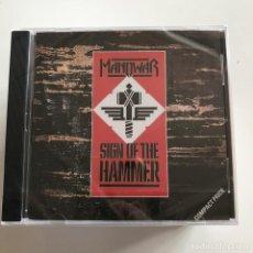CDs de Música: MANOWAR - SIGN OF THE HAMMER (1984) - CD VIRGIN NUEVO . Lote 149029870
