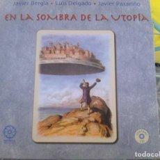 CDs de Música: FIRMADO POR BERGIA Y JOAQUÍN DIAZ - LUIS DELGADO+PAXARIÑO -EN LAS SOMBRAS D LA UTOPÍA (MANDALA,2011). Lote 149036390
