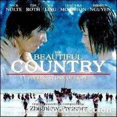CDs de Música: UN LUGAR MARAVILLOSO - THE BEAUTIFUL COUNTRY MÚSICA COMPUESTA POR ZBIGNIEW PREISNER. Lote 180086452