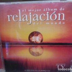 CD de Música: DOBLE CD. EL MEJOR ALBUM DE RELAJACION DEL MUNDO. 36 TITULOS. ANUNCIANDO EN TV. . Lote 149121950