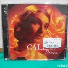 CDs de Música: DOBLE CD ALBUM CALLAS PASION EMI 2003 NUEVO¡¡ PEPETO. Lote 149221770