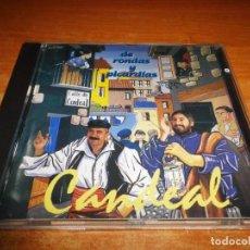CDs de Música: CANDEAL DE RONDAS Y PICARDIAS FELIX PEREZ Y TOÑO ORTEGA CD ALBUM DEL AÑO 1995 CONTIENE 15 TEMAS. Lote 149240750