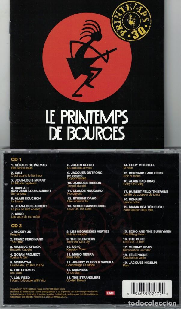 LE PRINTEMPS DE BOURGES - VARIOS (DOBLE CD, EMI 2007) (Música - CD's Pop)