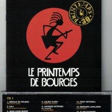 CDs de Música: LE PRINTEMPS DE BOURGES - VARIOS (DOBLE CD, EMI 2007). Lote 149308734