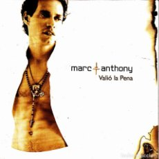 CDs de Música: MARC ANTHONY - VALIO LA PENA CD SINGLE 2 TEMAS PROMO 2004. Lote 149356814