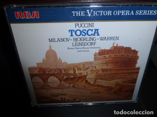 PUCCINI - TOSCA - MILANOV, BJOERLING, WARREN, LEINSDORF. - THE VICTOR OPERA SERIES - (Música - CD's Clásica, Ópera, Zarzuela y Marchas)