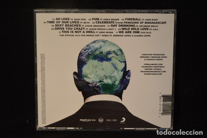CDs de Música: Pitbull - Globalization - CD - Foto 2 - 149369710