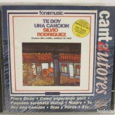 CDs de Música: SILVIO RODRIGUEZ - TE DOY UNA CANCION - CD - 1996 - CANTAUTORES - EX+/EX+. Lote 149390542