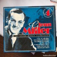 CDs de Música: GLENN MILLER ORCHESTRA - S/T - CAJA 4 CDS CEDAR. Lote 149467278