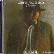 CDs de Música: CAMARON PACO DE LUCIA Y TOMATITO CALLE REAL . Lote 149481370